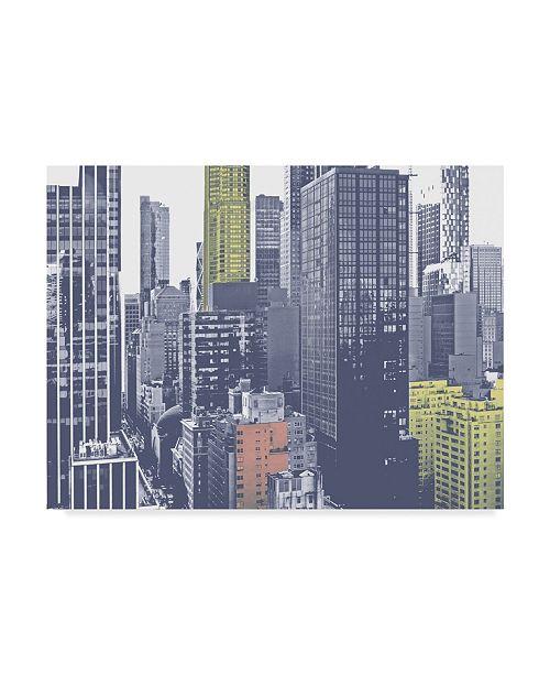 """Trademark Global Jeff Pica Pastel NYC III Canvas Art - 37"""" x 49"""""""
