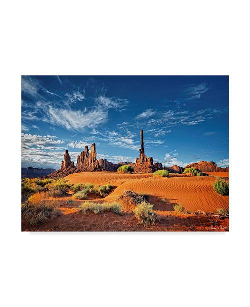 "Trademark Global David Drost Valley Beauty V Canvas Art - 37"" x 49"""