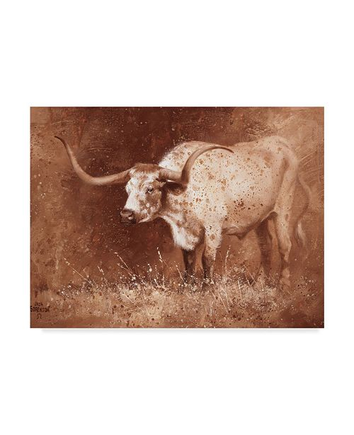 "Trademark Global Jack Sorenson Sienna Speculation Canvas Art - 37"" x 49"""