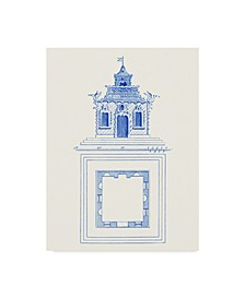 "Vision Studio Pagoda Design I Canvas Art - 20"" x 25"""