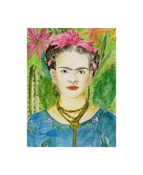 "Trademark Global Melissa Wang Frida Kahlo II Canvas Art - 20"" x 25"""