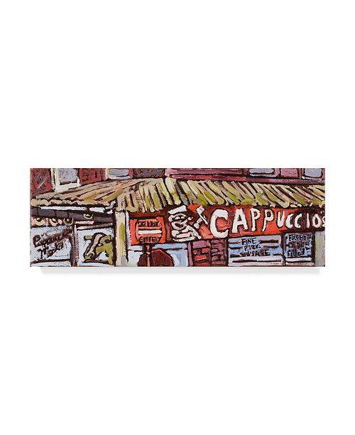 "Trademark Global Erin Mcgee Ferrell Urban Wires IV Canvas Art - 15"" x 20"""