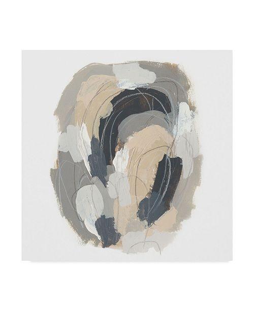 "Trademark Global June Erica Vess Neutral Vortex III Canvas Art - 15"" x 20"""