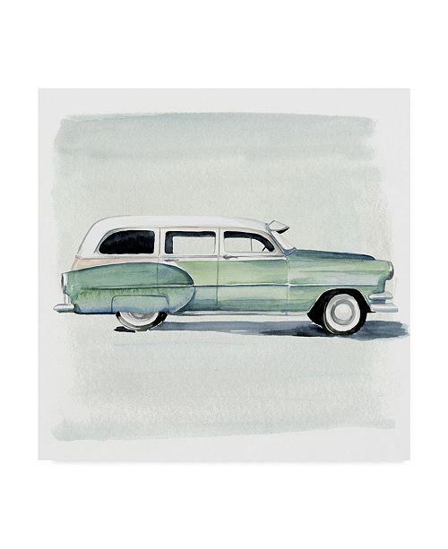 "Trademark Global Jennifer Paxton Parker Classic Autos III Canvas Art - 27"" x 33"""