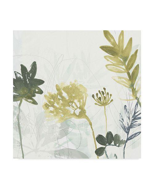 "Trademark Global June Erica Vess Tropical Stems I Canvas Art - 15"" x 20"""