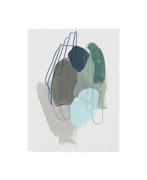"Trademark Global June Erica Vess Coda II Canvas Art - 20"" x 25"""