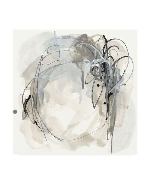 "Trademark Global June Erica Vess Monochrome Diaspora I Canvas Art - 15"" x 20"""