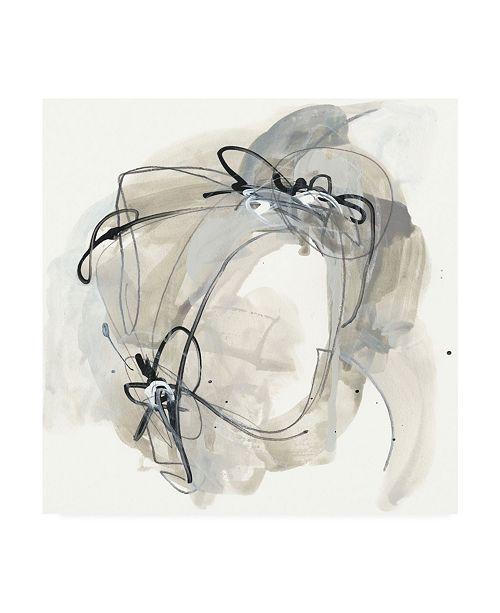 "Trademark Global June Erica Vess Monochrome Diaspora III Canvas Art - 27"" x 33"""