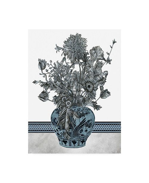 "Trademark Global Melissa Wang Bouquet in China II Canvas Art - 20"" x 25"""