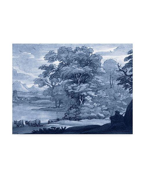 "Trademark Global Claude Lorrain Ua Ch Pastoral Toile II Canvas Art - 15"" x 20"""