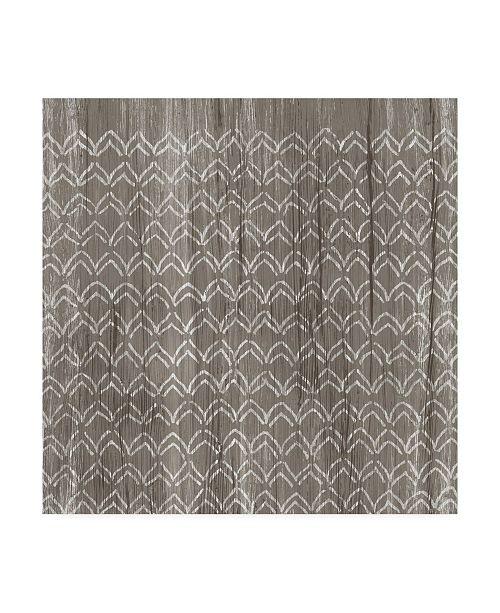 "Trademark Global June Erica Vess Weathered Wood Patterns VI Canvas Art - 27"" x 33"""