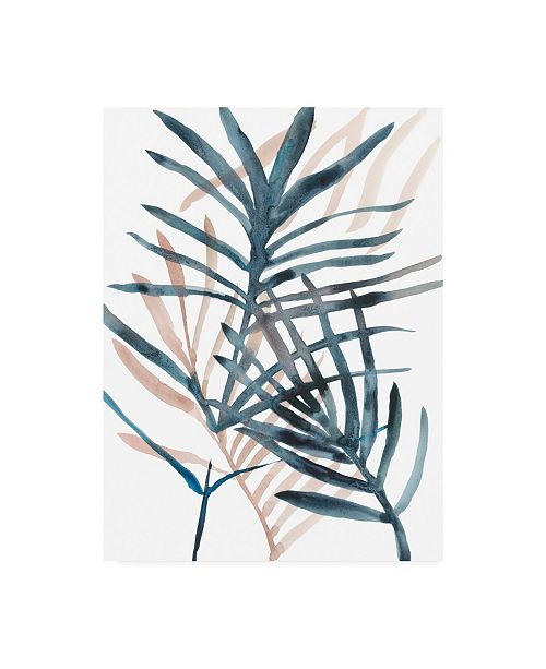 "Trademark Global Chariklia Zarris Panama Palms II Canvas Art - 20"" x 25"""