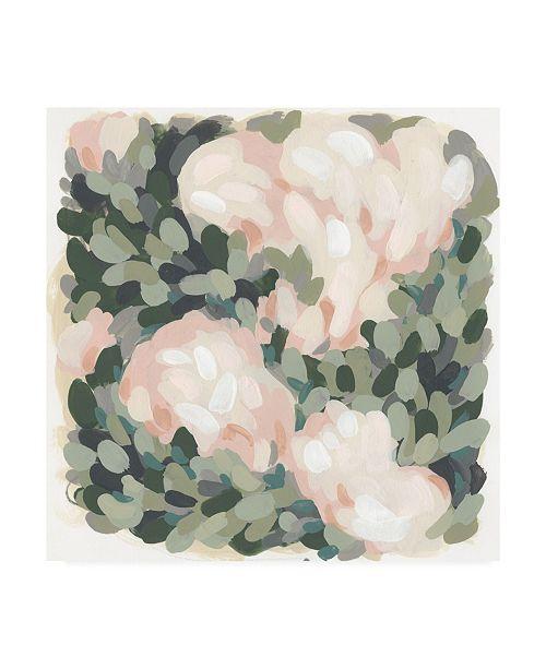"Trademark Global June Erica Vess Blush and Celadon II Canvas Art - 27"" x 33"""