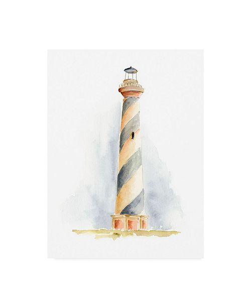 "Trademark Global Regina Moore Ocean Beacon III Canvas Art - 37"" x 49"""