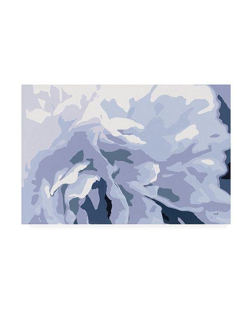 """Trademark Global Moira Hershey Peony Delight Canvas Art - 37"""" x 49"""""""