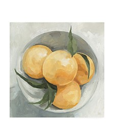 "Emma Scarvey Fruit Bowl I Canvas Art - 27"" x 33"""