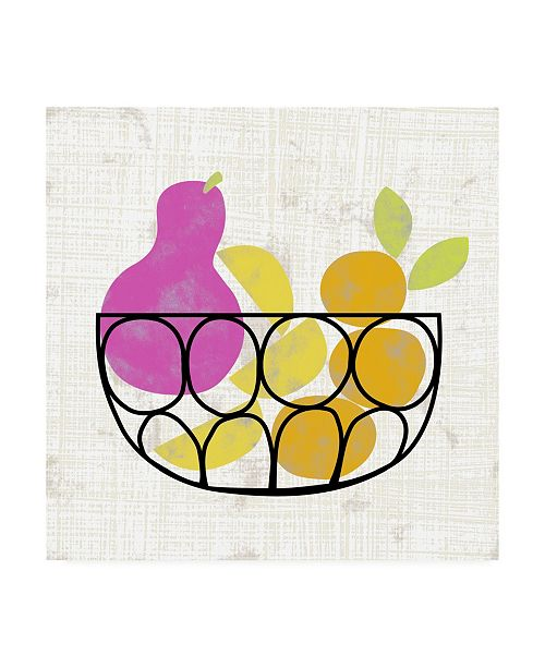 "Trademark Global Chariklia Zarris Fruitilicious I Canvas Art - 27"" x 33"""