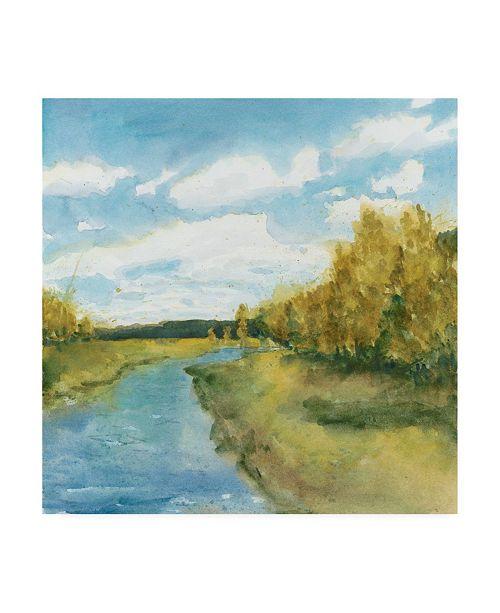 "Trademark Global Megan Meagher River Sketch I Canvas Art - 15"" x 20"""
