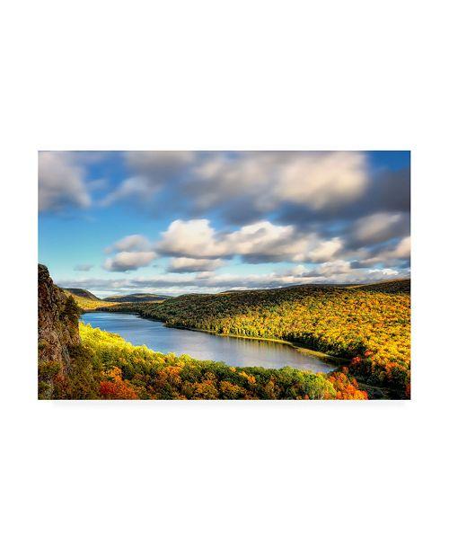 "Trademark Global PH Burchett Lake of the Clouds Canvas Art - 37"" x 49"""