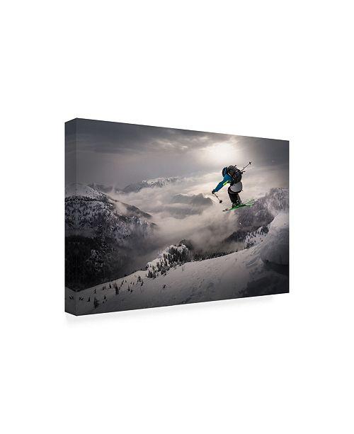 8e0d597cb Sandi Bertoncelj Backcountry Skiing Canvas Art - 37 x 49