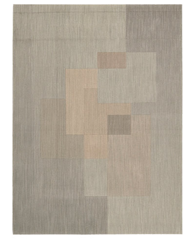 Calvin Klein Home Rugs, CK11 Loom Select Neutrals LS01 Overlay Driftwood