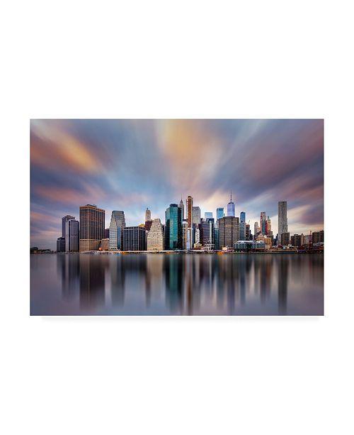 """Trademark Global Carlos F. Turienzo NY NY 2 Canvas Art - 36.5"""" x 48"""""""
