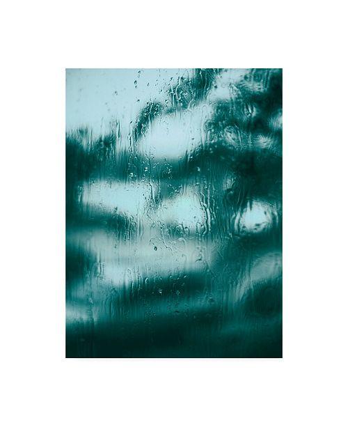 """Trademark Global Design Fabrikken Blue Motion Fabrikken Canvas Art - 36.5"""" x 48"""""""