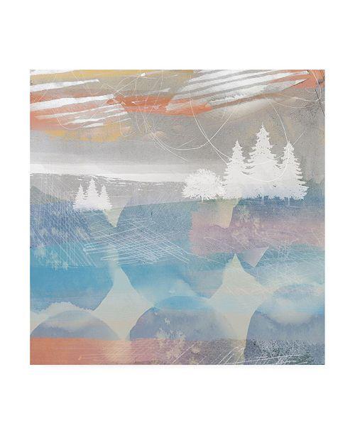 """Trademark Global Louis Duncan-He Crimson Sunset No. 2 Canvas Art - 19.5"""" x 26"""""""