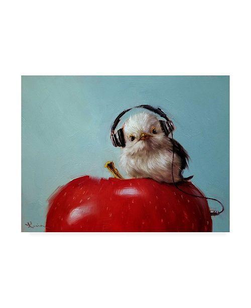 """Trademark Global Lucia Heffernan Apple Music Canvas Art - 19.5"""" x 26"""""""