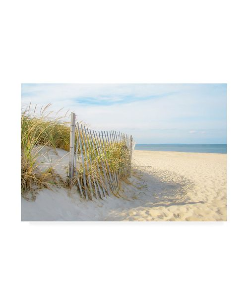 "Trademark Global Brooke T. Ryan Sandy Neck Canvas Art - 36.5"" x 48"""