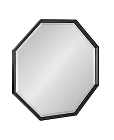 "Kate and Laurel Calter Framed Large Octagon Wall Mirror - 31.5"" x 31.5"""