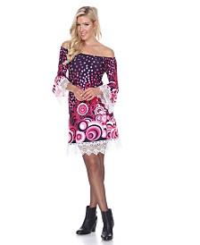 White Mark Women's Lenora Dress