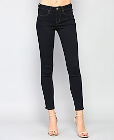 Vervet Mid Rise Super Stretch Dark Skinny Jeans
