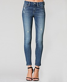 Flying Monkey Mid Rise Regular Hem Ankle Skinny Jeans