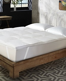 """Hotel Laundry 1.5"""" Featherbed - King"""