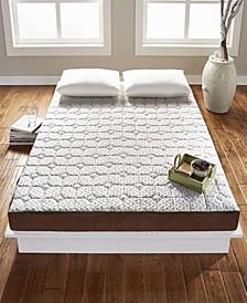 TataME Bed Luxury Memory Foam Mattress Topper - Queen