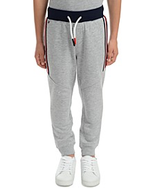 Little Boys Beau Side Stripe Fleece Sweatpants