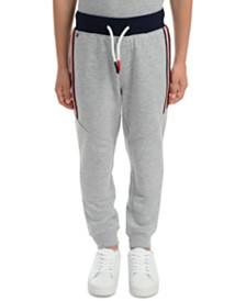 Tommy Hilfiger Little Boys Beau Side Stripe Fleece Sweatpants