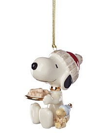 Lenox Snoopy Dog Treats Ornament