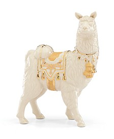 CLOSEOUT! First Blessing Nativity Llama Figurine