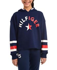 Tommy Hilfiger Big Girls Logo Hoodie