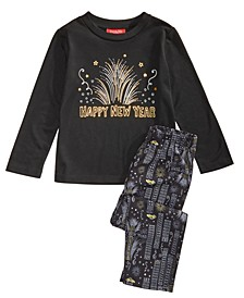 Matching Kids New Year Pajama Set, Created for Macy's