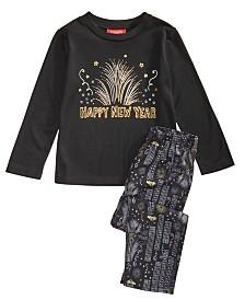 Matching Family Pajamas Kids New Year Pajama Set, Created for Macy's