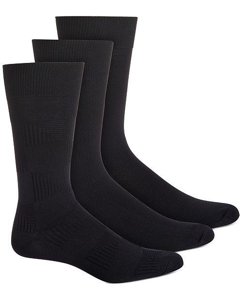 Perry Ellis Men's 3-Pk. Microfiber Socks