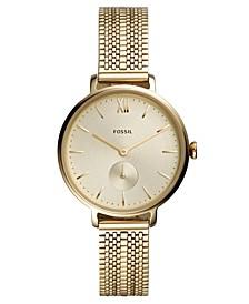 Women's Kalya Gold-Tone Stainless Steel Mesh Bracelet Watch 36mm
