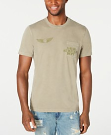 American Rag Men's Army Stamp T-Shirt, Created for Macy's