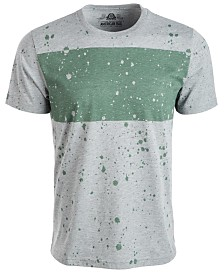 American Rag Men's Splatter Chest Stripe T-Shirt, Created for Macy's