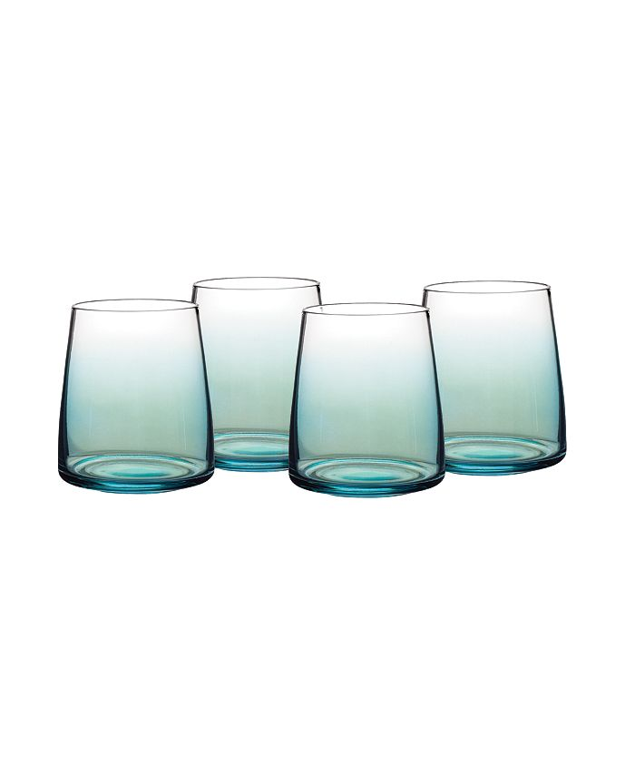 Portmeirion - Atrium Stemless Wine Glass, Set of 4