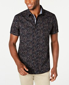 American Rag Men's Floral Paisley Shirt, Created for Macy's