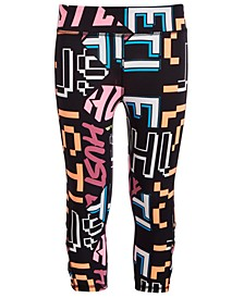 Big Girls Printed Caged Capri Leggings, Created for Macy's